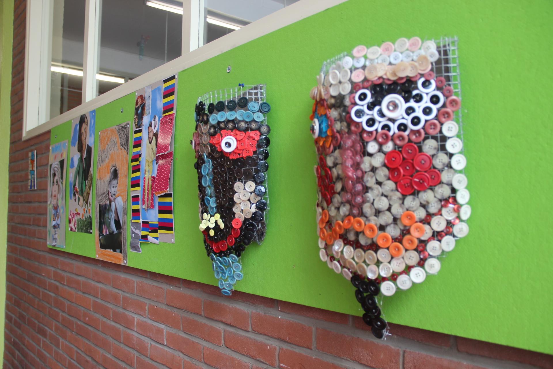 Expo de l'école de La Vallée