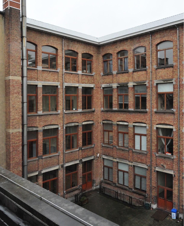 Cour intérieure de l'Institut Frans Fischer
