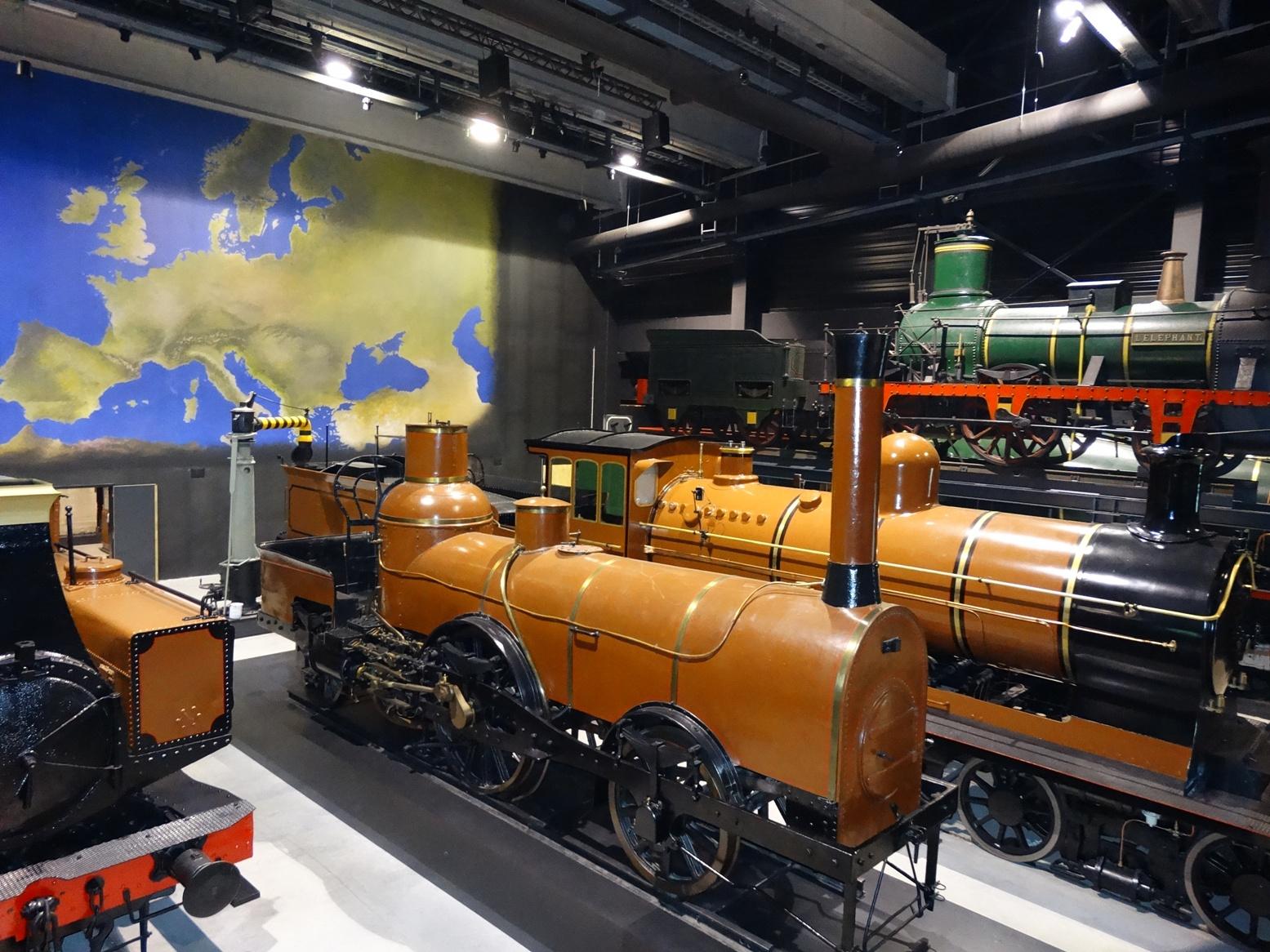 Des trains