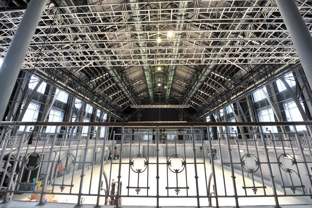 Les Halles de Schaerbeek intérieur