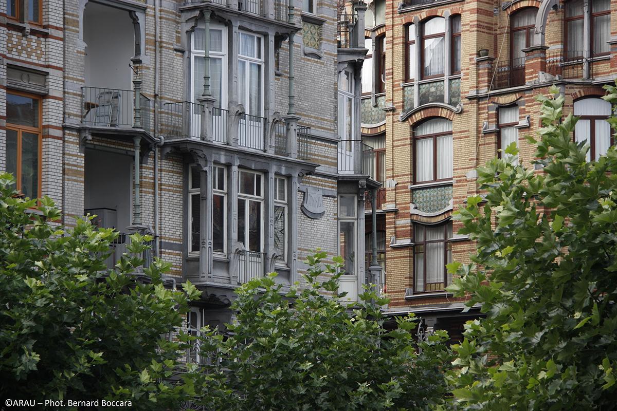 Bruxelles est Art nouveau