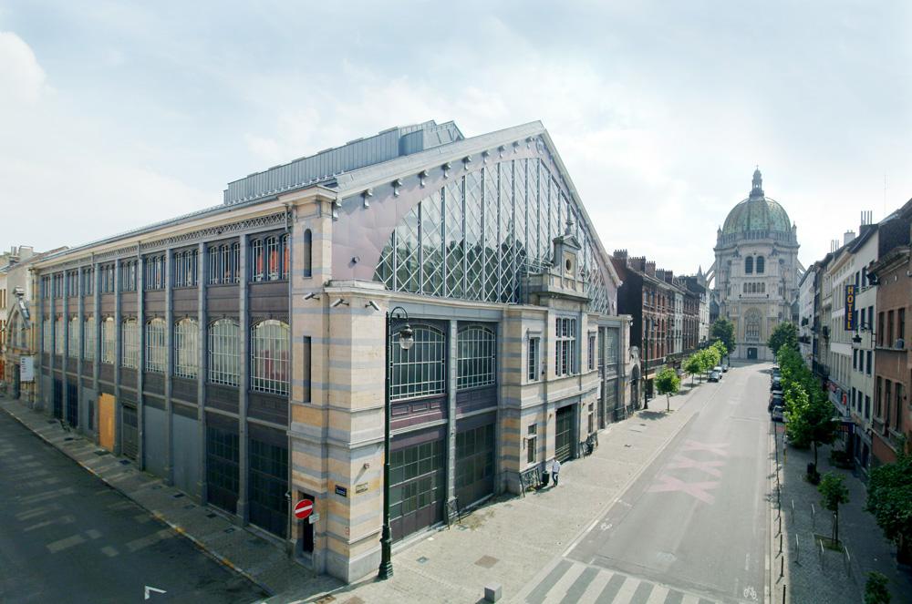 Les Halles de Schaerbeek extérieur