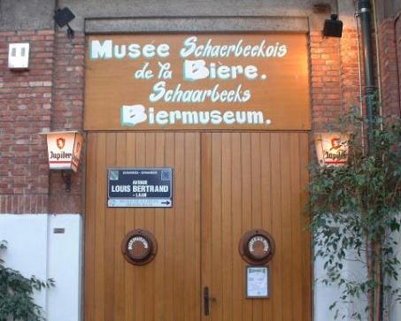 Entrée du Musée Schaerbeekois de la bière