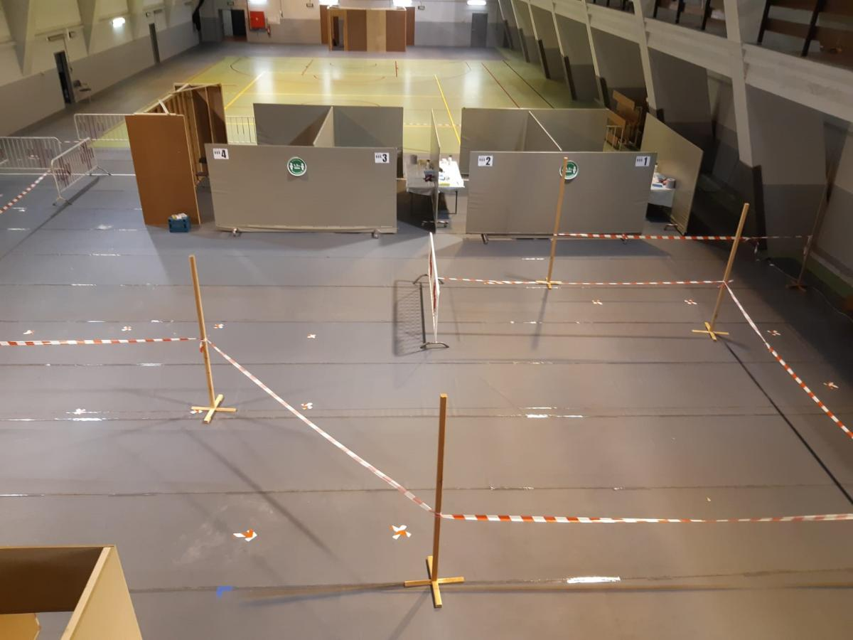 Le centre de testing du Crossing en chantier