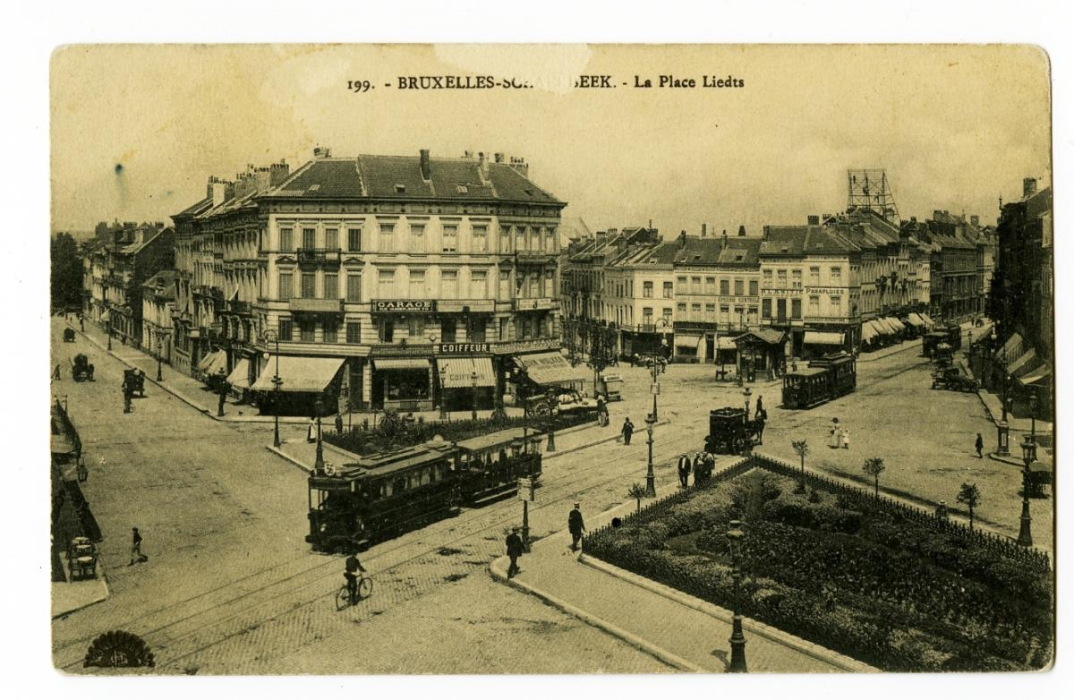 Tram place Liedts