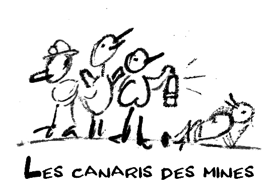 Canaris des mines