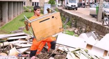 Inondations : Schaerbeek aux côtés des sinistrés