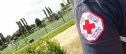 Volontaire à la croix rouge