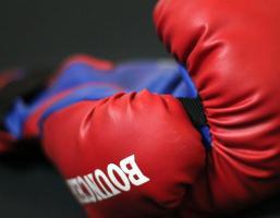 Des gants de boxe