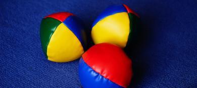 balles de jonglerie
