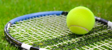 raquette de tenis