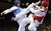 Des taekwondoïste