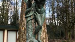 Eve et le serpent d'Albert Desenfans
